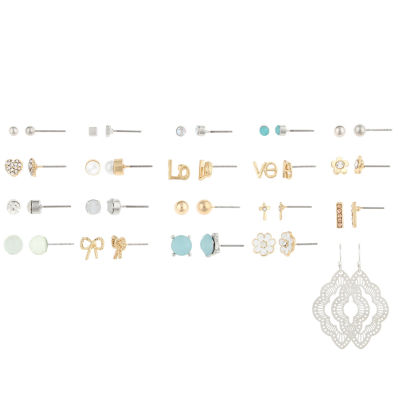 Decree Clear Earring Sets