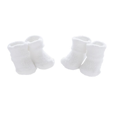 Carter's 2 Pack Keepsake Chinille Booties - Baby