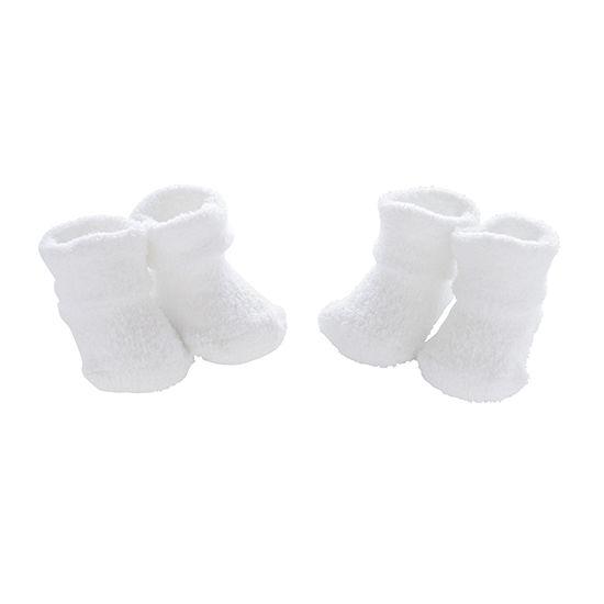 Carter's 2 Pair Baby Booties-Baby