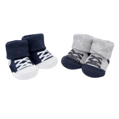 Carter's 2 Pack Sneaker Pull On Socks - Baby Boy
