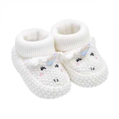 Carter's Unicorn Pull On Booties - Baby Girl