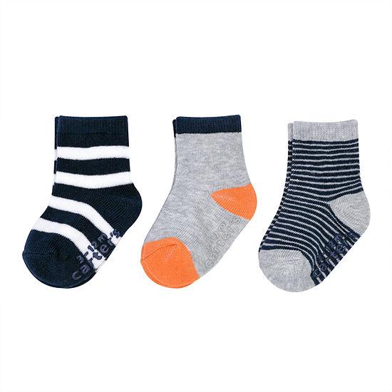 Carter's 3 Pair Crew Socks Boys Baby