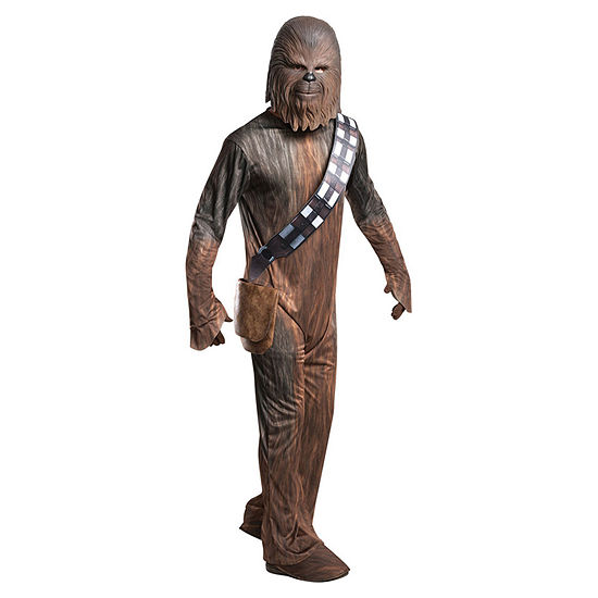 Mens Photo Real Chewbacca Dress Up Costume 2-pc. Star Wars Dress Up Costume