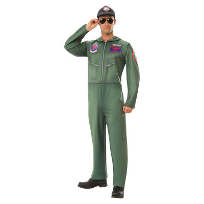 Paramount Top Gun Adult Costume Sume Dress Up Costume 2-pc. Dress Up Costume