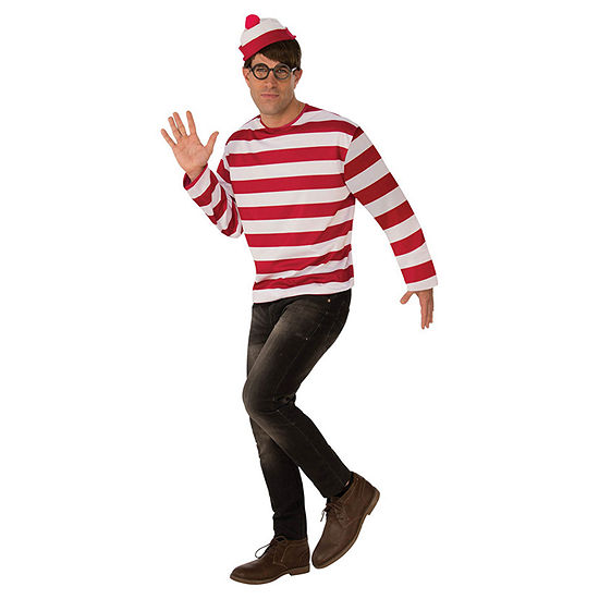 Where'S Waldo Adult Dress Up Costume