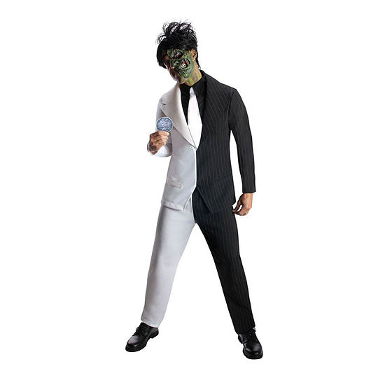 Mens Two Face Dc Comics Dress Up Costume 5-pc. DC Comics Dress Up Costume