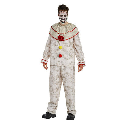 American Horror Story - Twisty The Clown Adult Halloween Costume Costume, Medium , Multiple Colors