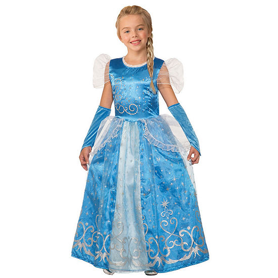 Girls Princess Celestia Blue Costume