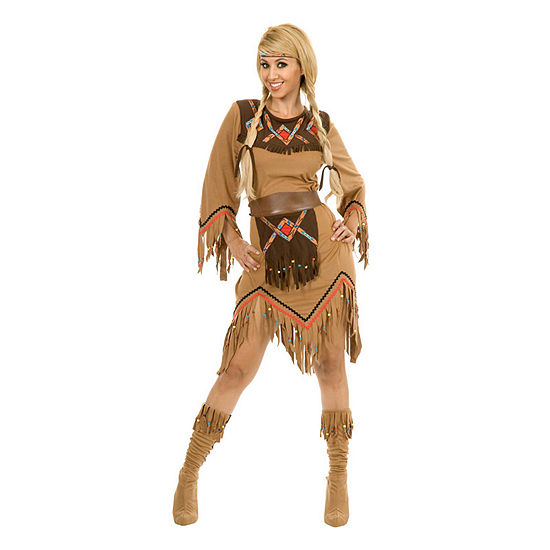 Womens Sacajawea Indian Maiden Costume