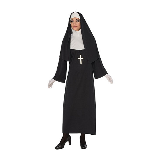 Buyseasons Womens Nun Costume 6-pc. Dress Up Costume