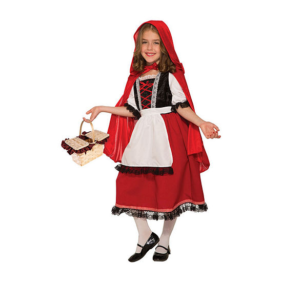 Girls Deluxe Red Riding Hood Costume 2-pc. Dress Up Costume