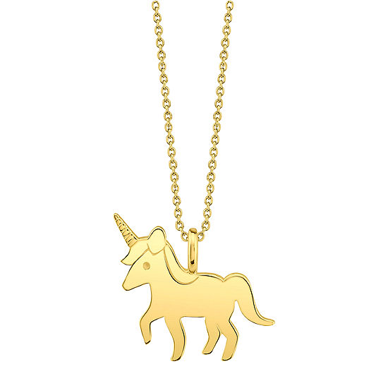 Footnotes Unicorn Womens Pendant Necklace