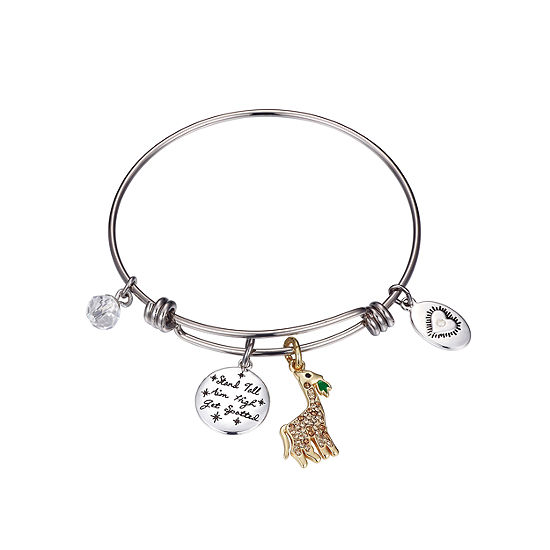 Sparkle Allure Solid Bangle Bracelet