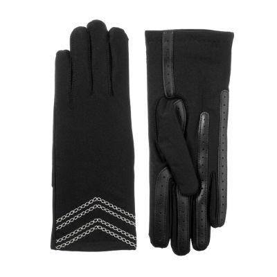 Isotoner Cold Weather 3 Button Glove with SmartDRI