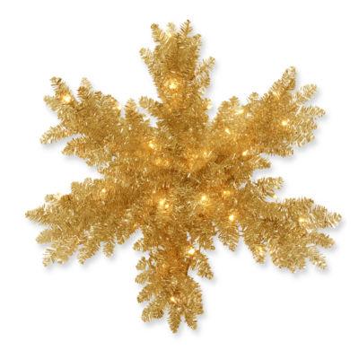 "National Tree Co. 32"" Snowflake Christmas Ornament"