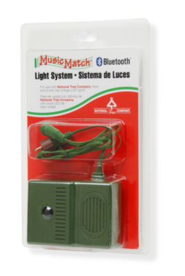 National Tree Co. Music Match Bluetooth® Light System Indoor String Lights