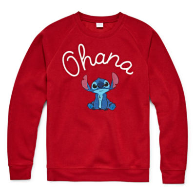 "Stitch ""Ohana"" Sweatshirt - Juniors Plus"