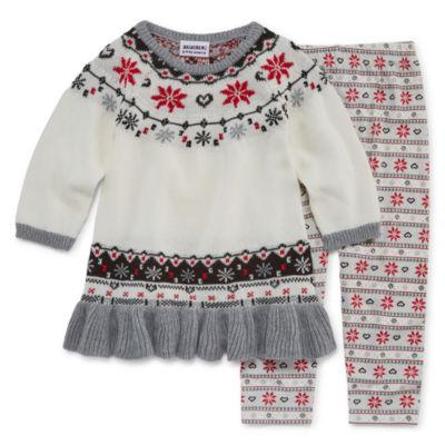 Blueberi Boulevard 2-pc. Sweater Set Toddler Girls