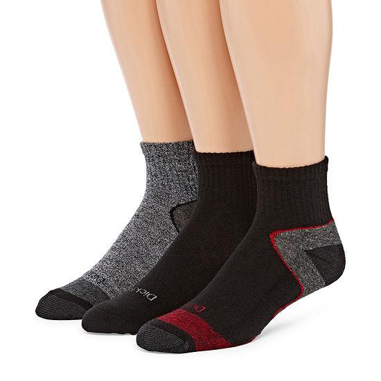 Dickies 3 Pair Quarter Socks-Mens