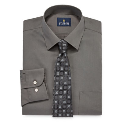 Stafford Box Shirt and Tie Set Shirt