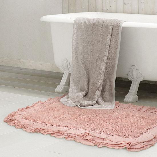Ruffle Border 2-pc.Bath Rug Set