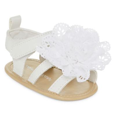 Okie Dokie Baby Girls Crib Shoes