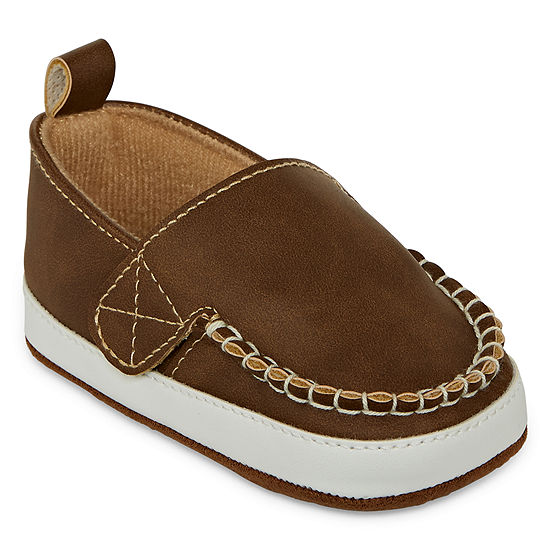 Okie Dokie Baby Boys Crib Shoes