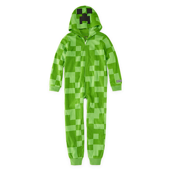 Minecraft Pajama Set Big Kid Boys