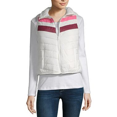 Arizona Puffer Vest (Snowdrift Block)