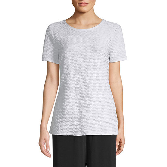 east 5th Womens Round Neck Short Sleeve T-Shirt