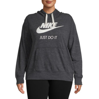 Nike Long Sleeve Knit Hoodie-Plus