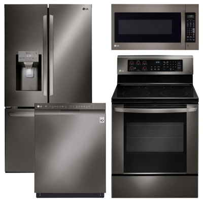 LG® 4-pc. Electric Kitchen Package