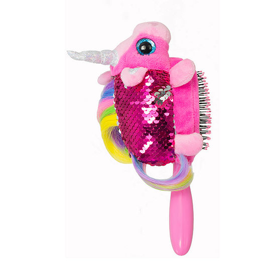 The Wet Brush Sequin Unicorn Plush Brush