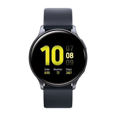 Samsung Galaxy Active 2 44mm Mens Multi-Function Black Smart Watch-Sm-R820nzkaxar