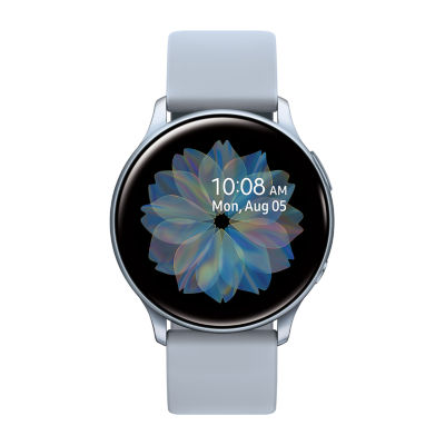 Samsung Galaxy Active 2 44mm Womens Multi-Function Silver Tone Smart Watch-Sm-R820nzsaxar