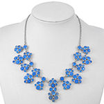 Monet Jewelry Blue 18 Inch Rope Statement Necklace