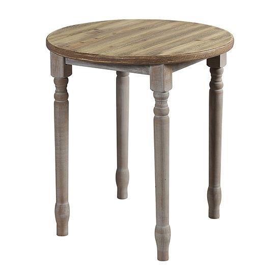 Quail Farm 24-Inch Chairside Table