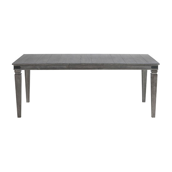 Foundry Rectangular Wood-Top Dining Table