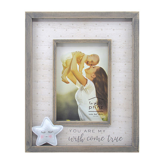 New View Plush Star Wish Come True Tabletop Frame