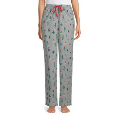 Sleep Chic Womens-Petite Flannel Pajama Pants