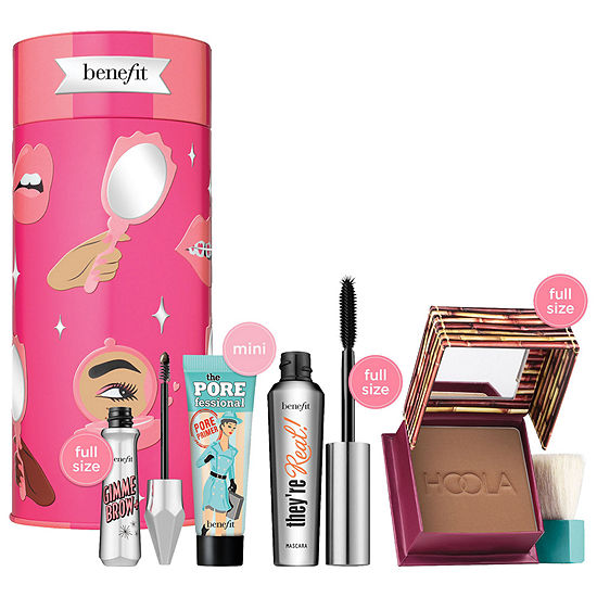 Benefit Cosmetics BYOB: Bring Your Own Beauty Eyes, Brows & Face Holiday Value Set