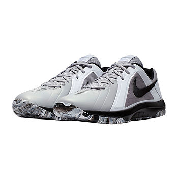 Nike® Air Mavin Low Mens Basketball Shoes, Color: Gray/white - JCPenney