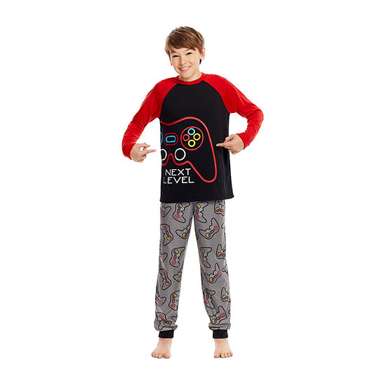 Jelli Fish Kids Big Boys 2-pc. Pajama Set
