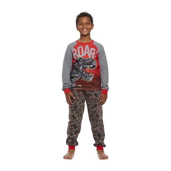 Jelli Fish Kids Big Boys 2-pc. Pant Pajama Set