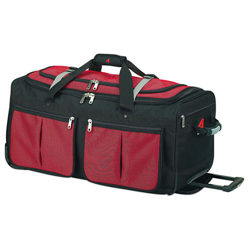 """Athalon 29"""" Rolling Duffel Bag with 15 Pockets"""