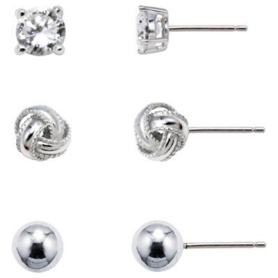 Sterling Silver Earring Set
