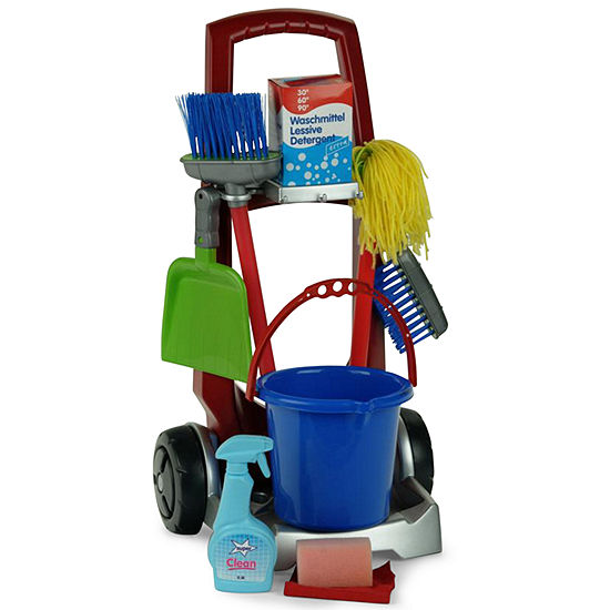 Theo Klein Toy Cleaning Trolley