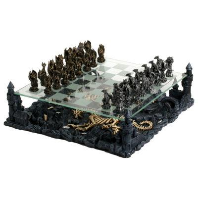 3-D Dragon Chess Set