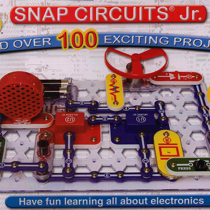 Snap Circuits Jr. 100-in-1 by Elenco Electronics