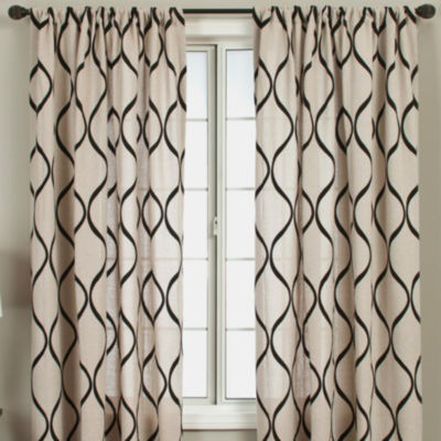 Mystic Rod-Pocket Curtain Panel